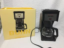 Speed brew coffee makers can brew 10 cups of coffee in about 4 minutes because they store hot water in a stainless steel commercial grade tank allowing them to brew coffee on demand. Bunn 10 Cup Speed Brew Drip Coffee Maker Model Gr Bremer Black Bunn