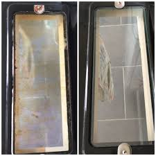 easy cleaning oven glass doors