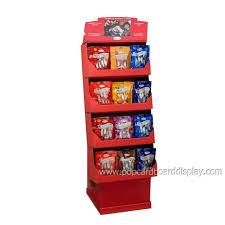 Snack Display Stands snack and chocolate retail supermarket cardboard display 2
