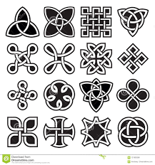 Celtic Rope Designs Collection Of Celtic Knot Designs In Vector Format Stock