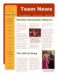 Employee Newsletter Examples Of Company Internal Newsletters