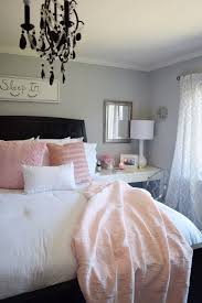 pink and white furniture. create a romantic bedroom with bright whites and pale blush pink bedding from homegoods white furniture