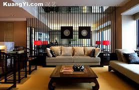 chinese style decor: sofa background the context of modern chinese style decoration sofa decoration picture
