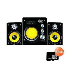 speakers yellow. cbm hy-311 yellow speakers + micro sd [8 gb]