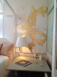 c and gold bedroom oooh yeah denise h grant wenzel could you like paint that for me or just like throw some gold paint on a canvas
