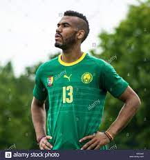 Eric Maxim Choupo-Moting. Player number 13. Cameroon national Stock Photo -  Alamy