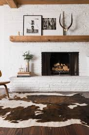 fabulous cowhide rug for your interior floor decor patch cowhide rug design within reach
