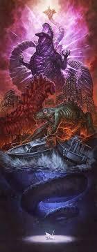 Godzilla Evolution Chart The Evolution Of Godzilla Mykaiju