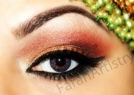 clic stani indian bridal eye makeup