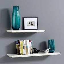 White Floating Wall Shelves New 2017