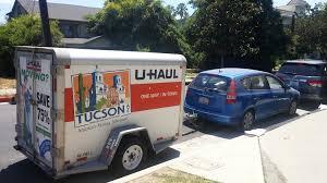 Hauling a U-Haul Trailer With a Compact Car – Sleep Walk Awake