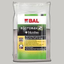 Amazon Com Bal Gunmetal Micromax 2 Tile Grout 2 5kg By