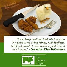 Pinterest     The world     s catalog of ideas Pinterest  vegan  quote by Ellen DeGeners
