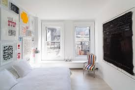 View In Gallery Awesome Scandinavian Bedroom With Color And Chalkboard Wall  [Design: Resolution: 4 Architecture]