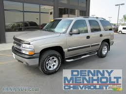 2002 Chevrolet Tahoe LS 4x4 in Light Pewter Metallic - 217915 ...