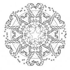 Small Picture Christmas Coloring Pages Mandala Coloring Pages