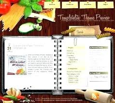 Homemade Cookbook Template Word Recipe Book Template Musacreative Co