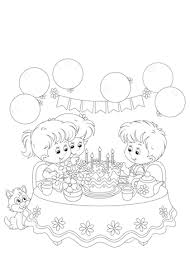 Verjaardag 5 Jaar Kleurplaat Geburtstag 1 Jahr Malvorlagen