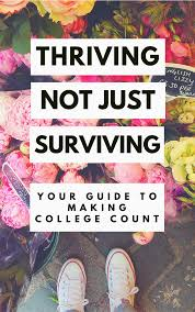 thriving not just surviving