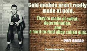Dan Gable Quotes Classy Ismail Garba On Twitter Gold Medals Aren't Really Made Of Gold