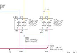 1997 chevy cavalier no lowbeam headlights electrical problem 1997 voltage to the headlamps is hot all the time in the diagram the top wires at the headlamp are voltage the bottoms wires are ground