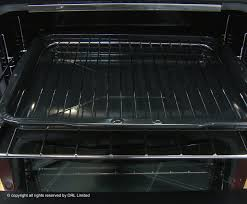 New World Kitchen Appliances New World Nw90g Satin Steel 90cm Built In Double Cavity Gas Oven