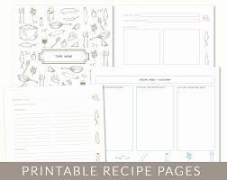 Doc Descargar Free Printable Recipe Binder Templates For Diy