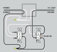 light switch outlet combo combination me boat trailer lights wiring light switch outlet combo dual device and leviton combination wiring diagram double