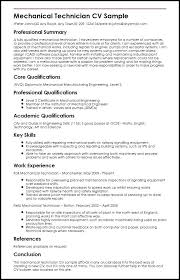 Manufacturing Engineer Resume Sample Sample Mechanical Engineering Resume Resume Template Mechanical ...