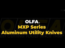 OLFA MXP 18mm Heavy-Duty <b>Aluminum Utility Knife</b> - YouTube
