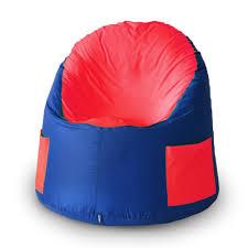 <b>Пуфик</b>-мешок Емеля, цвет васильковый-красный, окосфорд ...