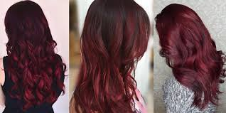Red Hair To Brown Hair Colour Chart Is Burgundy Hair Color Right For You Matrix
