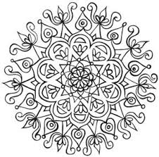 Small Picture Mandala Coloring Book Free Pdf Coloring Pages