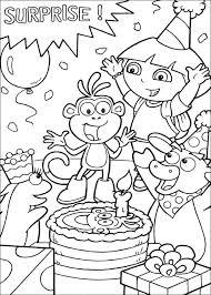 Birthday Coloring Pages Happy Grandma Dad Pr Disney Princess