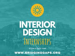 Interior Design Internships Summer 2019 Interior Design Internships Summer 2020 Cape Town South