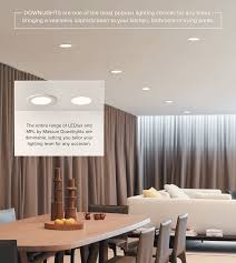 downlights ar the most popular lighting choices for any home