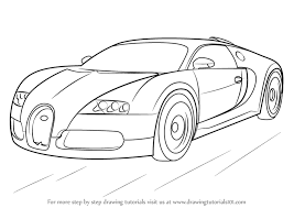 sport cars drawings. Delighful Drawings Learn How To Draw Bugatti Veyron Sports Cars Step By  Drawing  Tutorials To Sport Cars Drawings