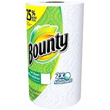 Large Paper Sheets Bounty Towels White Roll More Graph