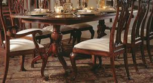 Two Pedestal Dining Table American Drew Cherry Grove Double Pedestal Dining Table Clearance
