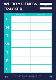 Customize 47 Workout Planner Templates Online Canva