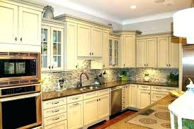 kitchen refinishing kitchen cabinets antique white how to paint look painting red