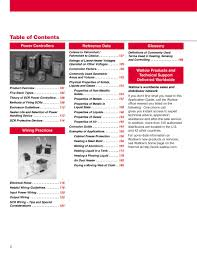 Thermal Component Reference Guide By Watlow Electric