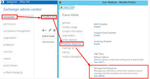 How To Change Message Size Limit In Exchange Server 2013