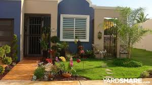 Small Backyard Landscape Designs Magnificent Landscaping Ideas En Puerto Rico Landscape Design Ideas Front Of House
