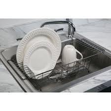 Kitchen Dish Rack Simplify Dish Drainer Reviews Wayfair