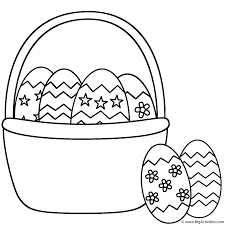 Easter Egg Coloring Pages And Colouring Bird Eggs Free Dinosaur ...