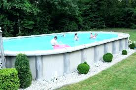 Above Ground Pool Designs Above Ground Pool Ideas Oval Shaped Above