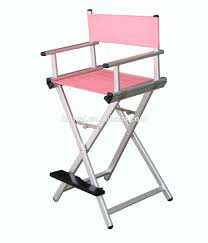 in many colors diffe size folding salon aluminum makeup artist chairs portable chairs