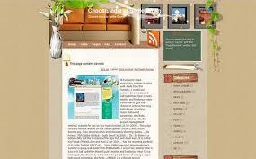 Free Website Design Templates Interesting Interior Design Brown Website Template Download