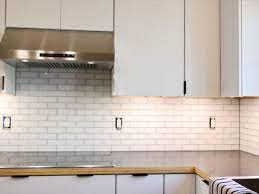 how to install subway tile installing